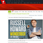 Win tickets to Russell Howard LIVE!