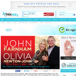 Win Tickets to see John Farnham & Oliva Newton