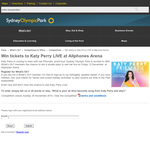 Win tickets to see Katy Perry live at Allphones Arena!