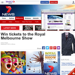 Win tickets to the Royal Melbourne Show