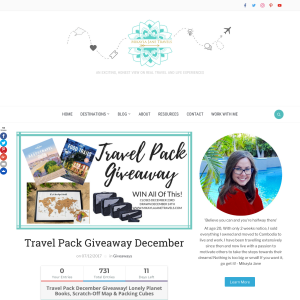 Win Travel Pack Giveaway