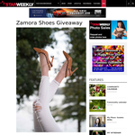 Win two pairs of Zamora Shoes