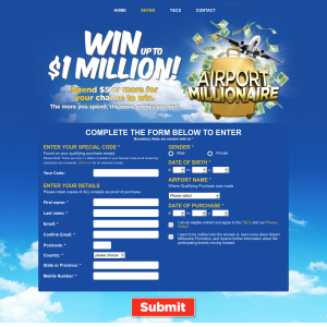 Win up to $1,000,000