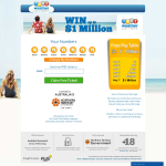Win up to $1.2 Million drawn every Friday