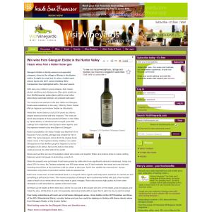 Win wine from Glenguin Estate in the Hunter Valley