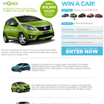 Win Your Choice of 1 of 5 Cars