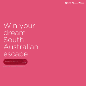 Win your Dream South Australian Escape