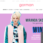 Win your favourite look from the 'Miranda Skoczek for Gorman' collaboration valued at $1,200!