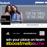 Win your place on team #boostmelbourne!