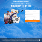 Win your share of Prizes worth up to $5,000