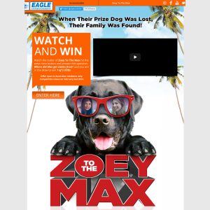 Win Zoey to the Max dvds